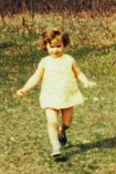 Joan, age 2, at a relative's farm, within a year of sex reassignment
