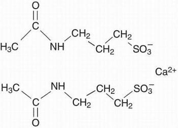 Campral structural formula