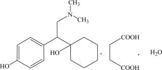 Pristiq structural formula