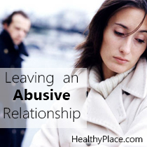 Leaving an Abusive Relationship and Your Mental Health