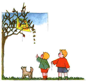 A Kite in a Tree