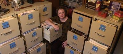 Sue Mikolic's home office