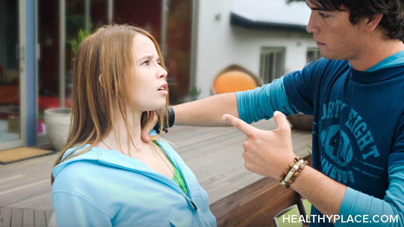 Psychological abuse definition plus signs and symptoms. Psychological abuse signs may start small,  then escalate into frightening situations. Learn more.