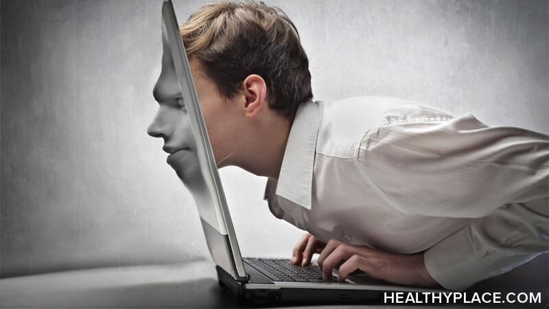 Comprehensive information about Internet addiction, online addiction.  Includes definition, signs, symptoms, causes, treatment of Internet addiction.