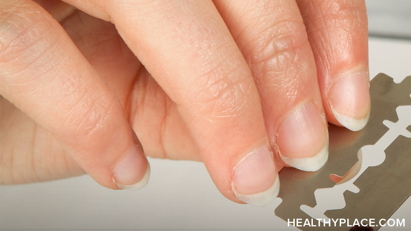 Cutting self is common among self-harmers. Self-injury cutting, may be seen as a way of relieving emotional pain. Learn more about cutting and self-mutilation.
