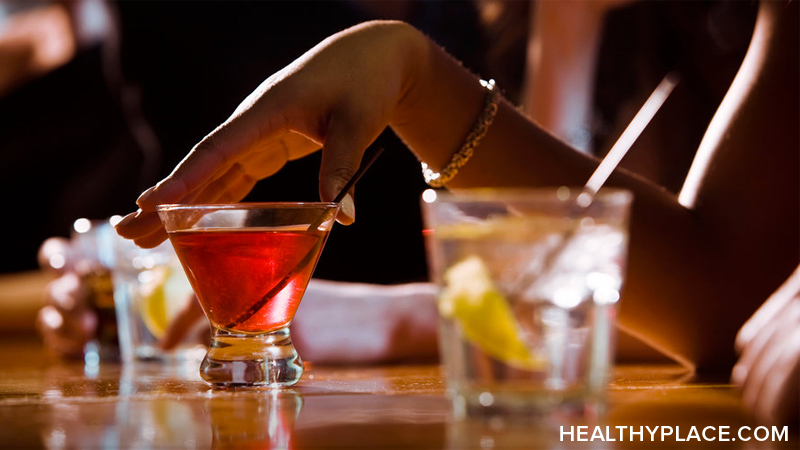 Can moderate drinking help relieve stress and depression? Read more on drinking alcohol to treat depression.
